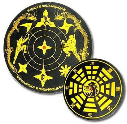 House Brand Throwing Star Target Board